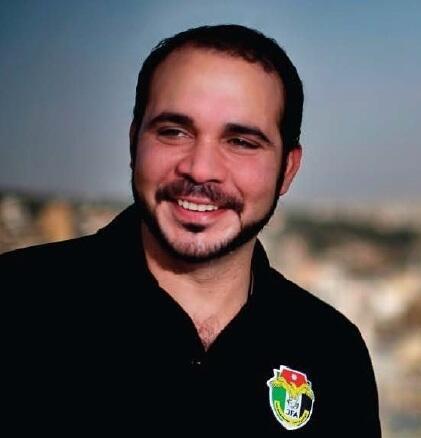 O príncipe da Jordânia Ali Bin Al Hussein, atual vice-presidente da Fifa para a Ásia.