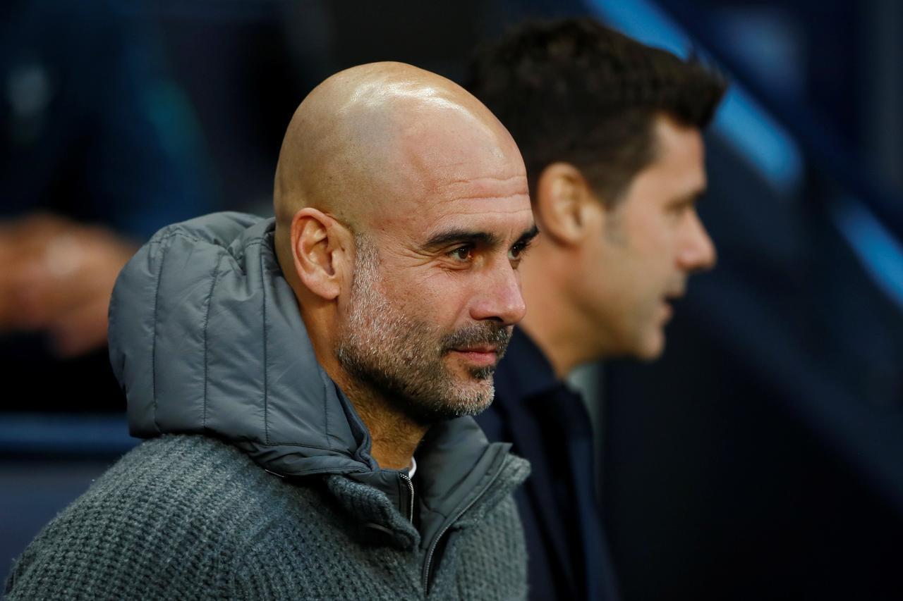 Kocin Manchester City Pep Guardiola.