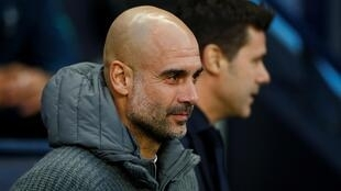 Cocin Manchester City Pep Guardiola