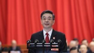 中國最高人民法院院長周強資料圖片