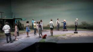 Une représentation de la pièce « Les Innocents, moi et l'inconnue au bord de la route départementale ».
