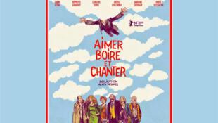 L'affiche du dernier film d'Alain Resnais <i>Aimer boire et chanter, </i>son dix-neuvième et dernier film.