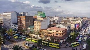 Rue à Nairobi.