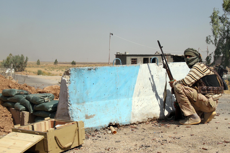Amerli, thành phố ở phía bắc thủ đô Bagdad, bị Nhà nước Hồi giáo vây hãm từ hai tháng nay - AFP / ALI AL-BAYATI