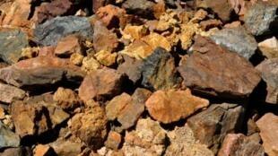 Terres rares issues de la mine sud-africaine de Steenkampskraal (illustration).