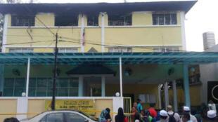 آتشسوزی در یک مدرسه مذهبی در مالزی ۲۵ کشته به جای گذاشت.