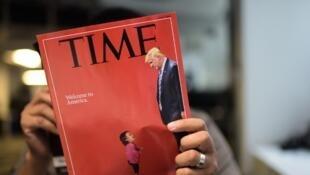 《纽约每日新闻》将小女孩的照片放在封面上