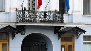 Здание консульства Франции в Санкт-Петербурге