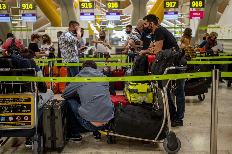 2021年7月9日马德里国际机场