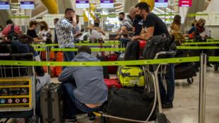 2021年7月9日馬德里國際機場