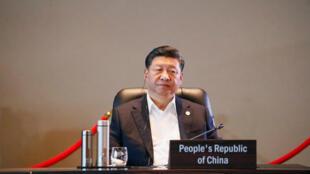 中國國家主席習近平18日在APEC峰會上