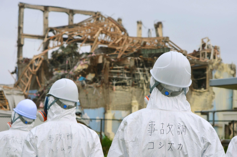 Wasu Mambobin kwamitin binciken matsalar makamashin Nuclear Fukushima