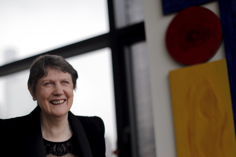 Helen Clark, Première ministre de Nouvelle-Zélande de 1999 à 2008.
