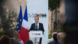 Le président français, François Hollande a rappelé l'urgence «de trouver rapidement des décisions».