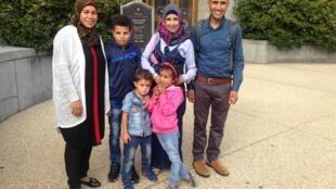 Ces deux familles palestiniennes sont allés jusqu'aux Etats-Unis pour sauver leur village.