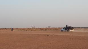 Wasu daga cikin masu tafiya cin rani a Libya