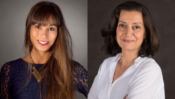 Zoé Decker et Francesca Agiroffo
