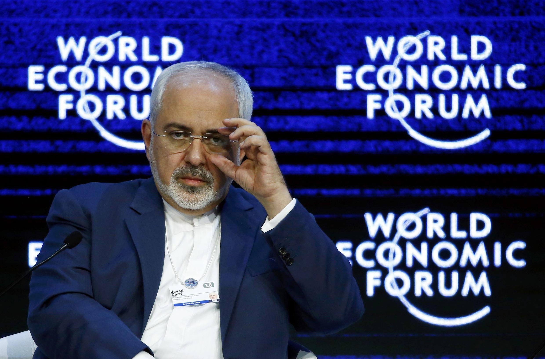 محمد جواد ظریف در همایش داووس