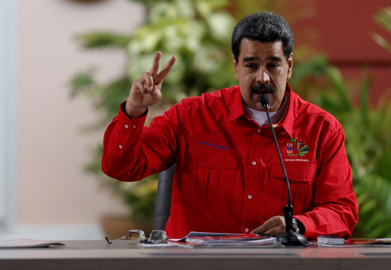 Le président du Venezuela Nicolas Maduro, le 28 juillet 2019 à Caracas.