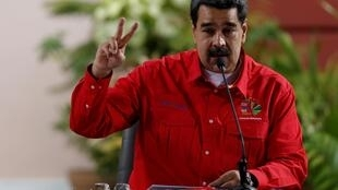 O presidente da Venezuela, Nicolás Maduro, no dia 28 de julho de 2019 em Caracas.