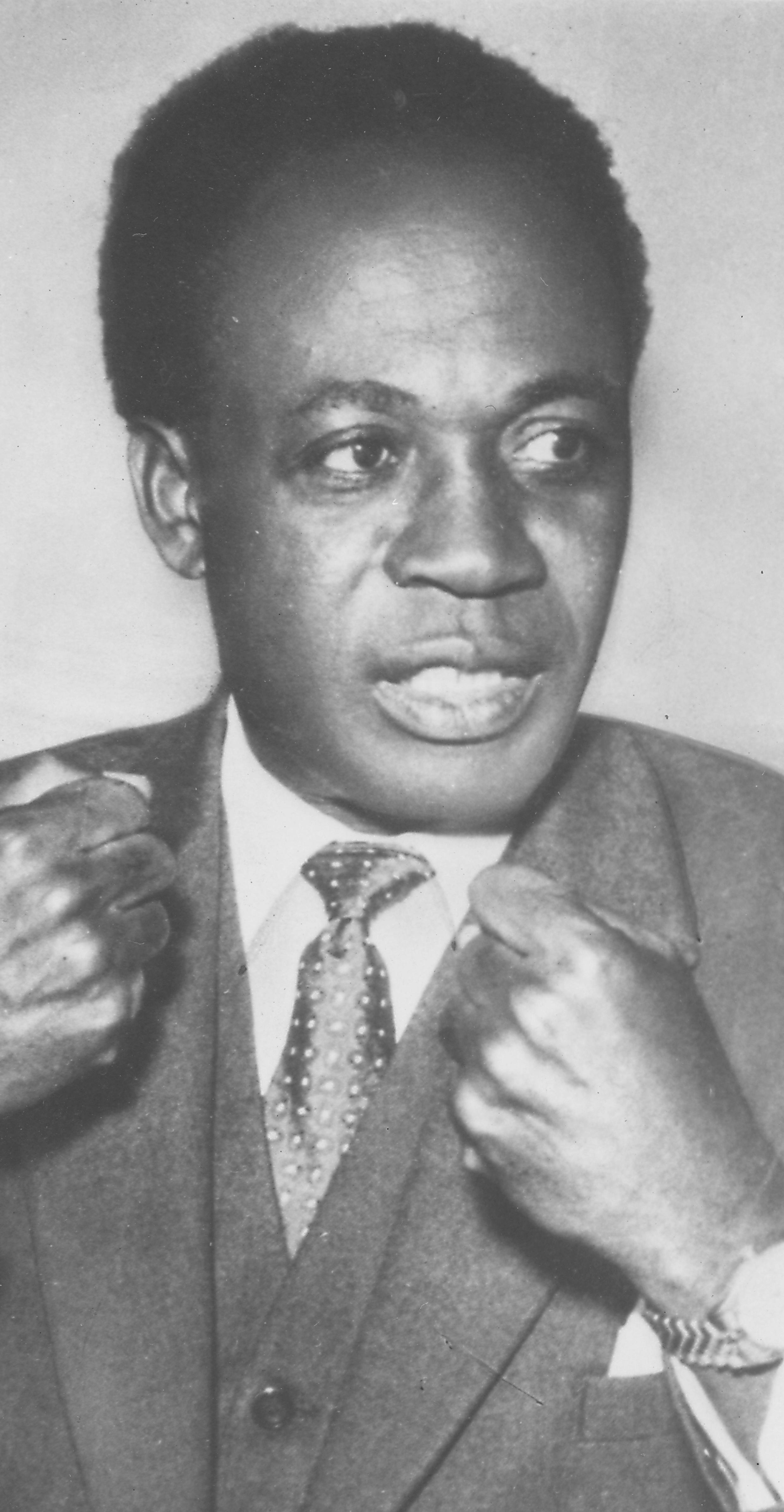 Kwameh Nkrumah, rais wa kwanza wa Ghana na mwanaharakati wa muungano wa Afrika