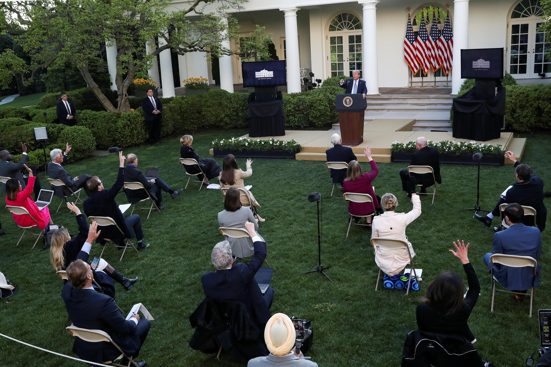 Donald Trump - presse