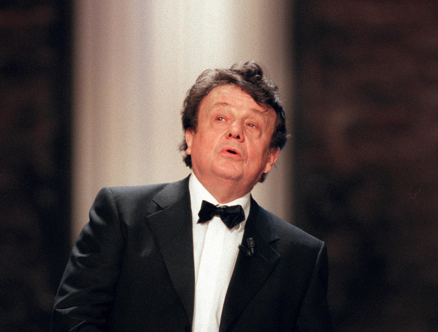 Le comédien et metteur en scène Marcel Maréchal est décédé le 11 juin 2020, à l'âge de 83 ans. Ici en 2000 lors de la Nuit des Molières.