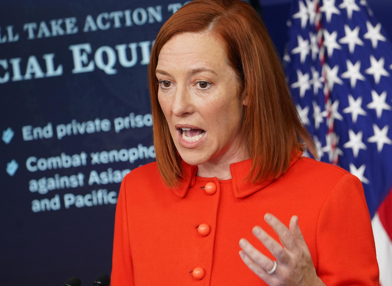 White House Press Secretary Jen Psaki says the US wants a 'robust' probe into Covid-19's origins
