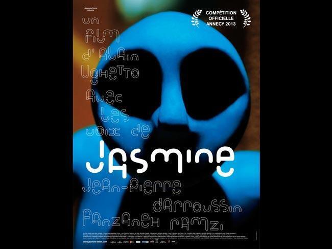 Affiche du film d'Alain Ughetto:«Jasmine».