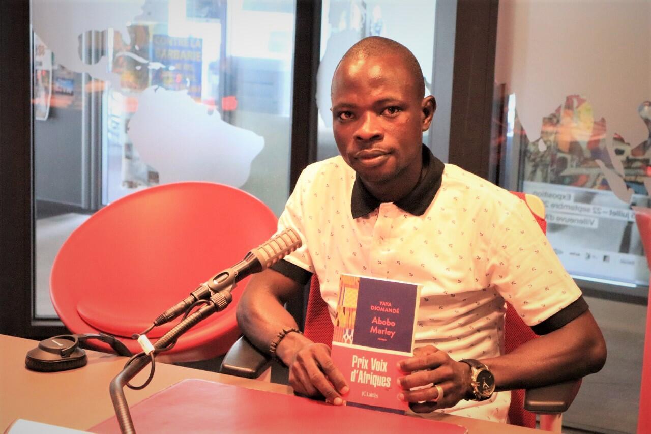 Yaya Diomandé, premier lauréat du prix «Voix d'Afriques».