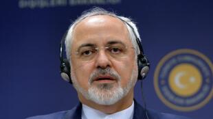 Глава иранского МИД Джавад Зариф в Анкаре, 12 августа 2016.