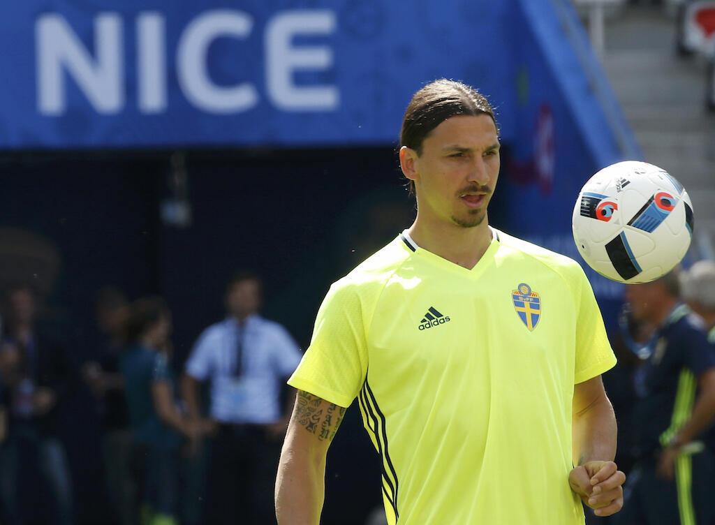 Mshambuliaji wa kimataifa wa timu ya taifa ya Sweden, Zlatan Ibrahimovic.