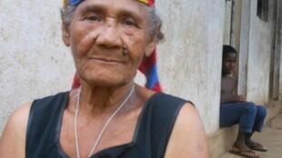 Joana Maria Hortênsia, antiga contratada de origem cabo-verdiana moradora em Porto Alegre, no sul da ilha
