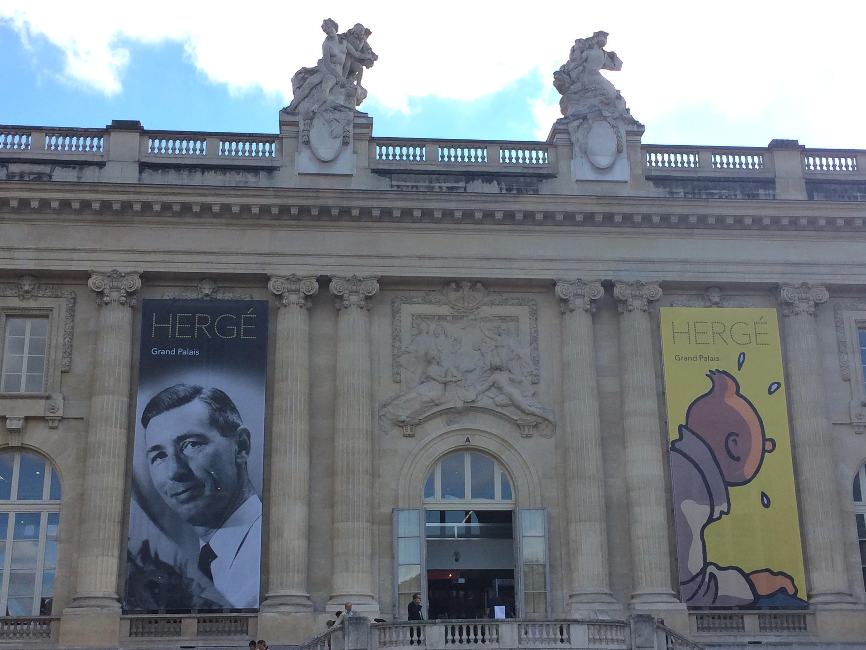 Triển lãm Hergé tại Grand Palais, Paris từ ngày 28/09/2016 đến ngày 15/01/2017.