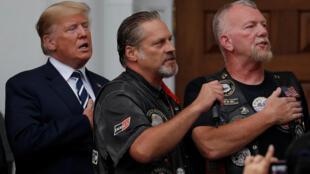 Tổng thống Donald Trump gặp mặt nhóm những người hâm mộ Trump tại bang New Jersey, Mỹ, ngày 11/08/2018.