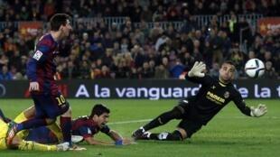 Barcelona ta lallasa Villarreal ci 3-1 a Copa del ray bayan ta doke ta ci 1-0 a La liga