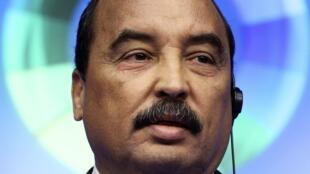 Mohamed Ould Abdel Aziz.