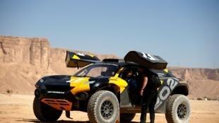 La nouvelle compétition de SUV électriques tout-terrain a été lancée dans le désert d'Arabie saoudite après l'expérience du Grand Prix de Qiddiya, le 17 janvier 2020