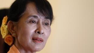 Aung San Suu Kyi a appelé à la protection des droits des minorités ethniques, qui représentent un tiers de la population du pays.