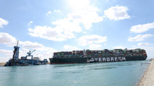 Porte-conteneurs Canal de Suez