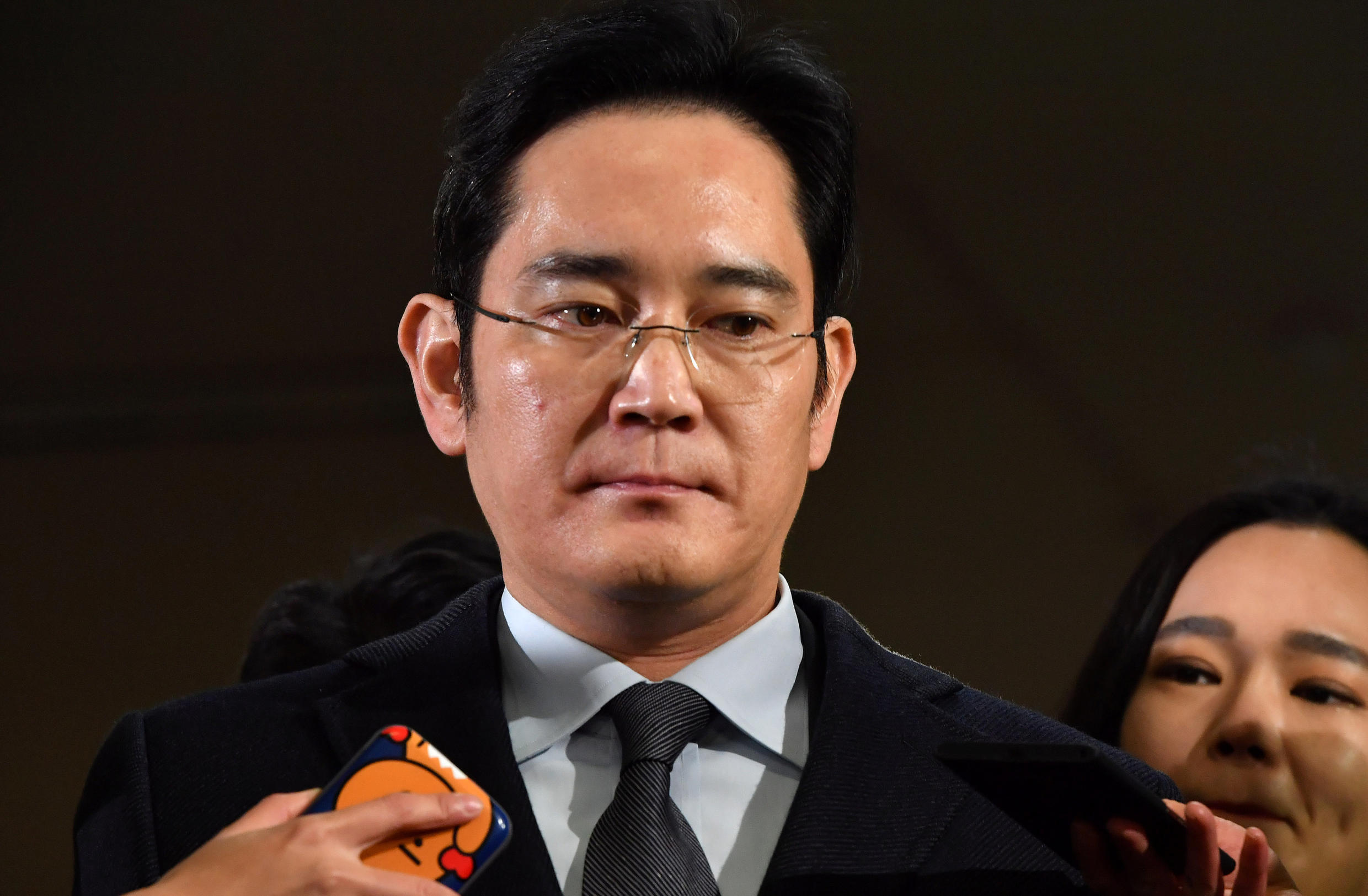 Lee Jae-Yong, the heir of the Lee family, owners of Samsung.