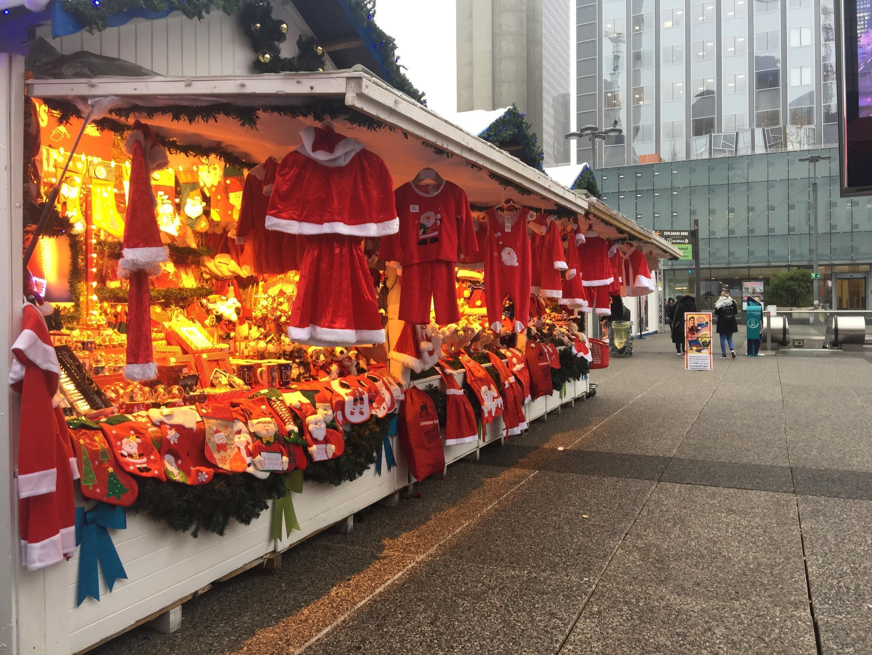 Mercado de Natal de La Défense, Paris. Dezembro de 2018.