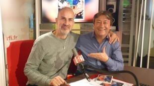 Antonio Placer con y Jordi Batallé en RFI