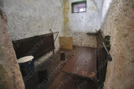 Карцер в вологодской тюрьме