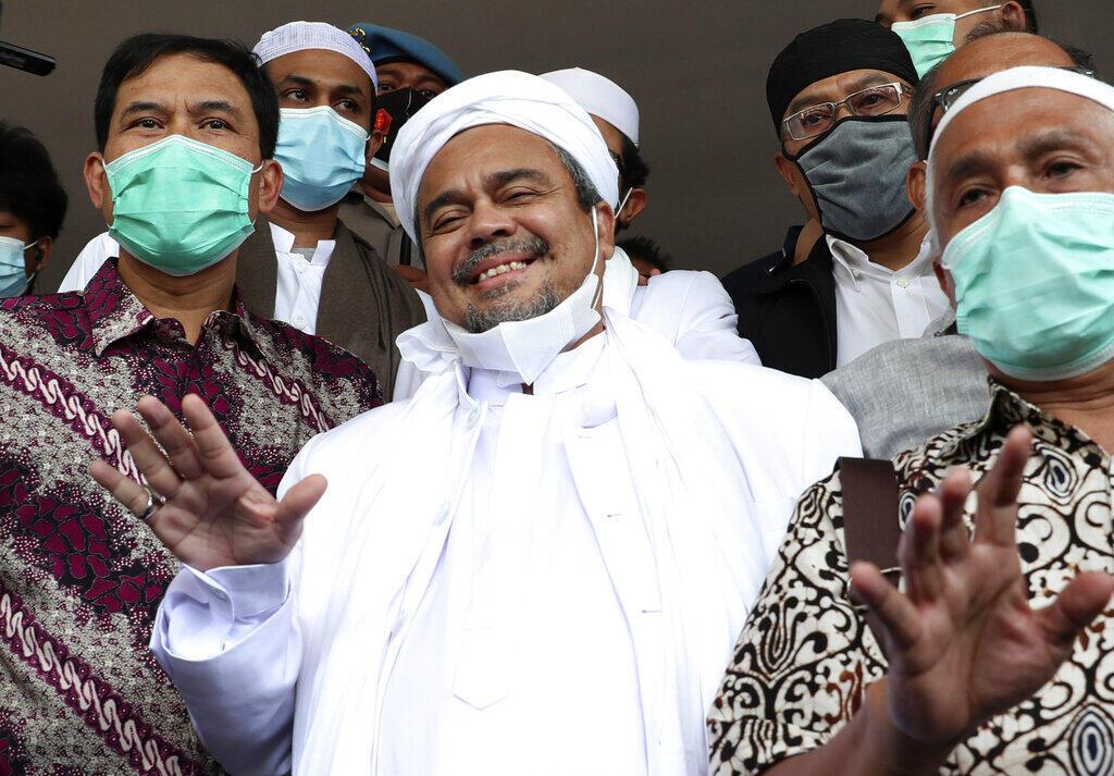 Rizieq Shihab Indonésie
