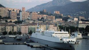 Vue d'Ajaccio en Corse (Photo d'illustration).