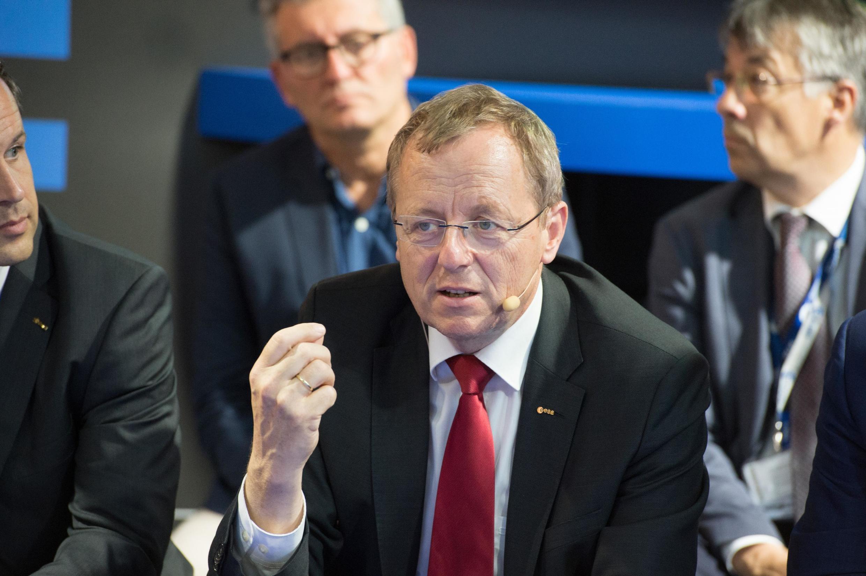 Jan Wörner, directeur général de l'Agence spatiale européenne (ESA).