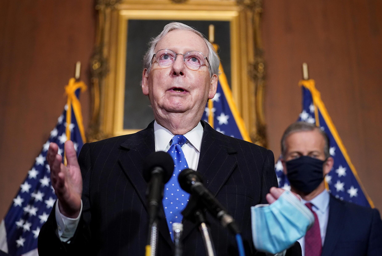 Etats-Unis - Congrès - Mitch McConnell - Sénat -