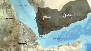 """تنگۀ """"باب المندب""""، راه صادرات نفت خاورمیانه، یکی از شاهراههای دریایی بسیار مهم بینالمللی است. ،"""