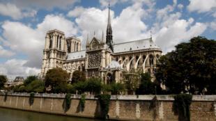 La cathédrale Notre-Dame de Paris en 2009.